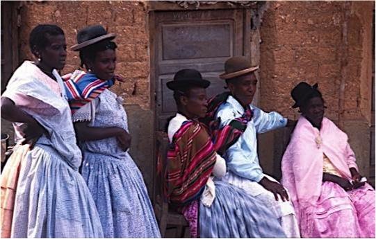 Afroboliviens-Bolivie