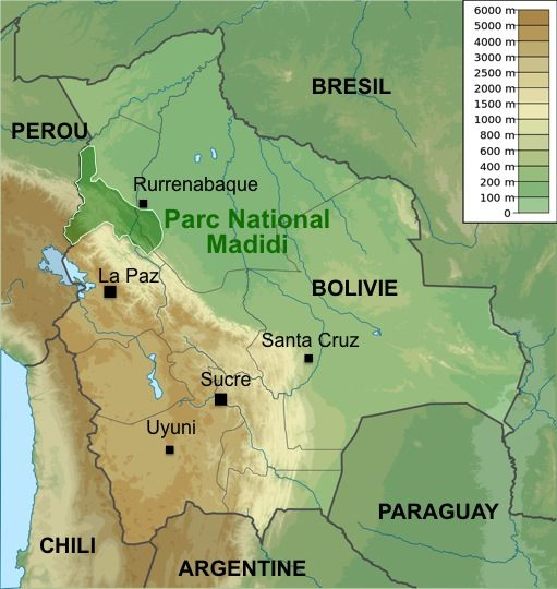 Carte-Bolivie-Madidi