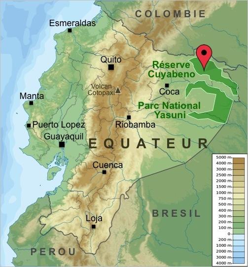 Carte-Equateur-Canoe-Cuyabeno