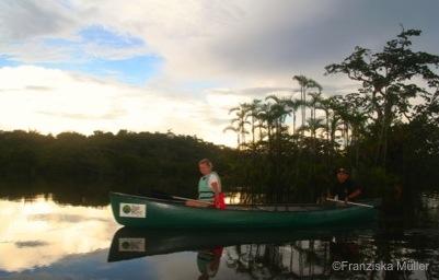 CIRCUIT 'L'AMAZONIE EN CANOË'<br /> 5 à 8 jours