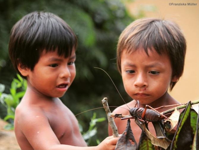 Huaorani-Enfant-Equateur