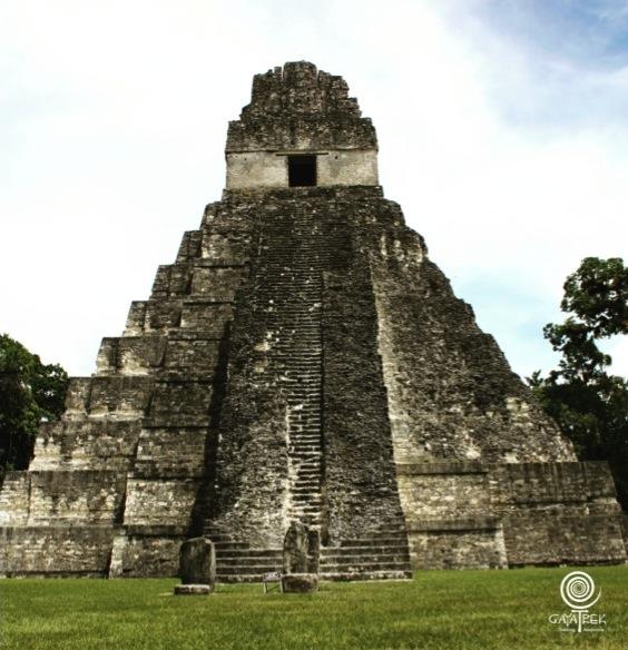 Trek-Guatemala-Tikal-Pyramide