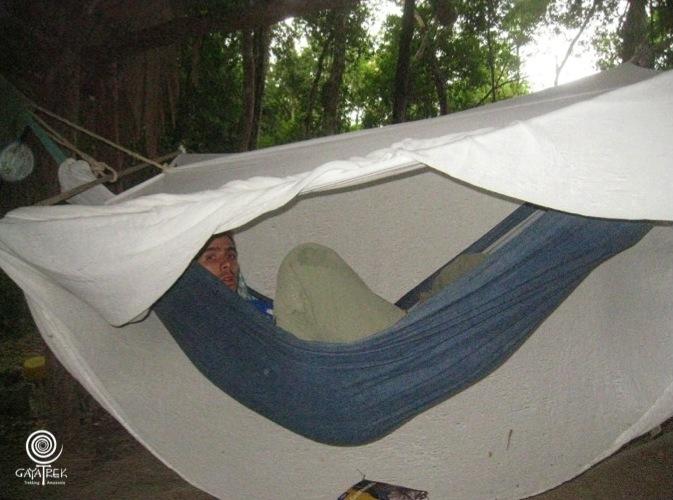 Trek-Tikal-Hamac-Campement