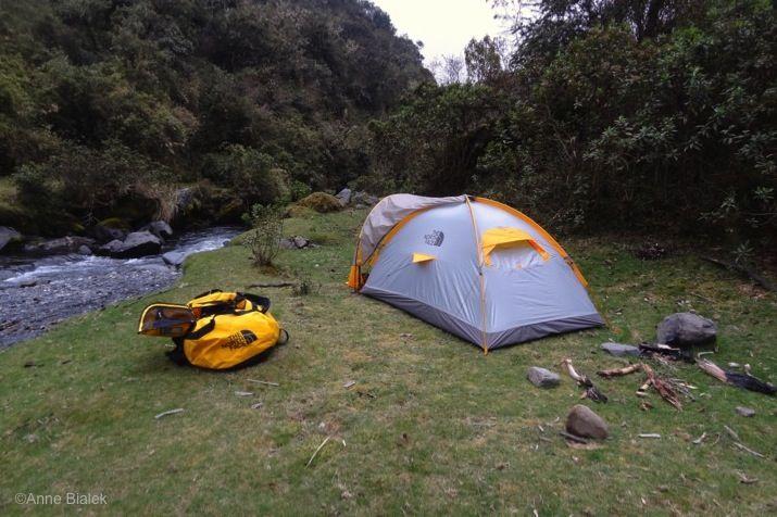 Trek-Bolivie-Campement-Yunga