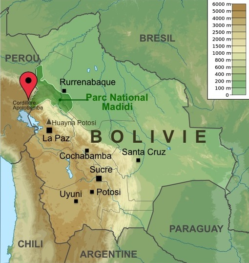 Carte-Bolivie-Apolobamba