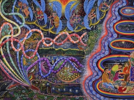 Ayahuasca-Peinture-Pablo-Amaringo