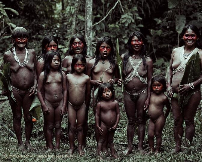 Famille-Huaorani