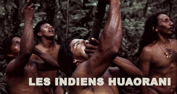 Indiens-Huaorani