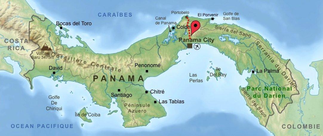 Carte-Panama-Isthme