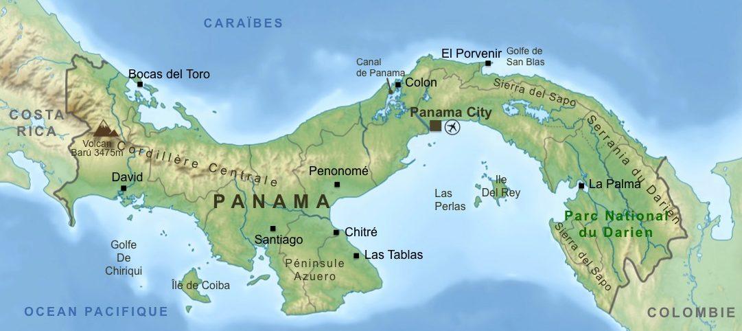 Carte-Panama