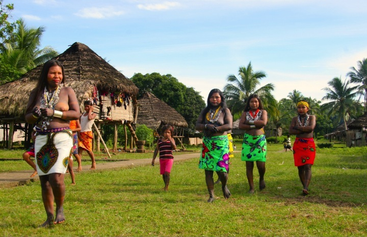 Panama-Indiens-Embera