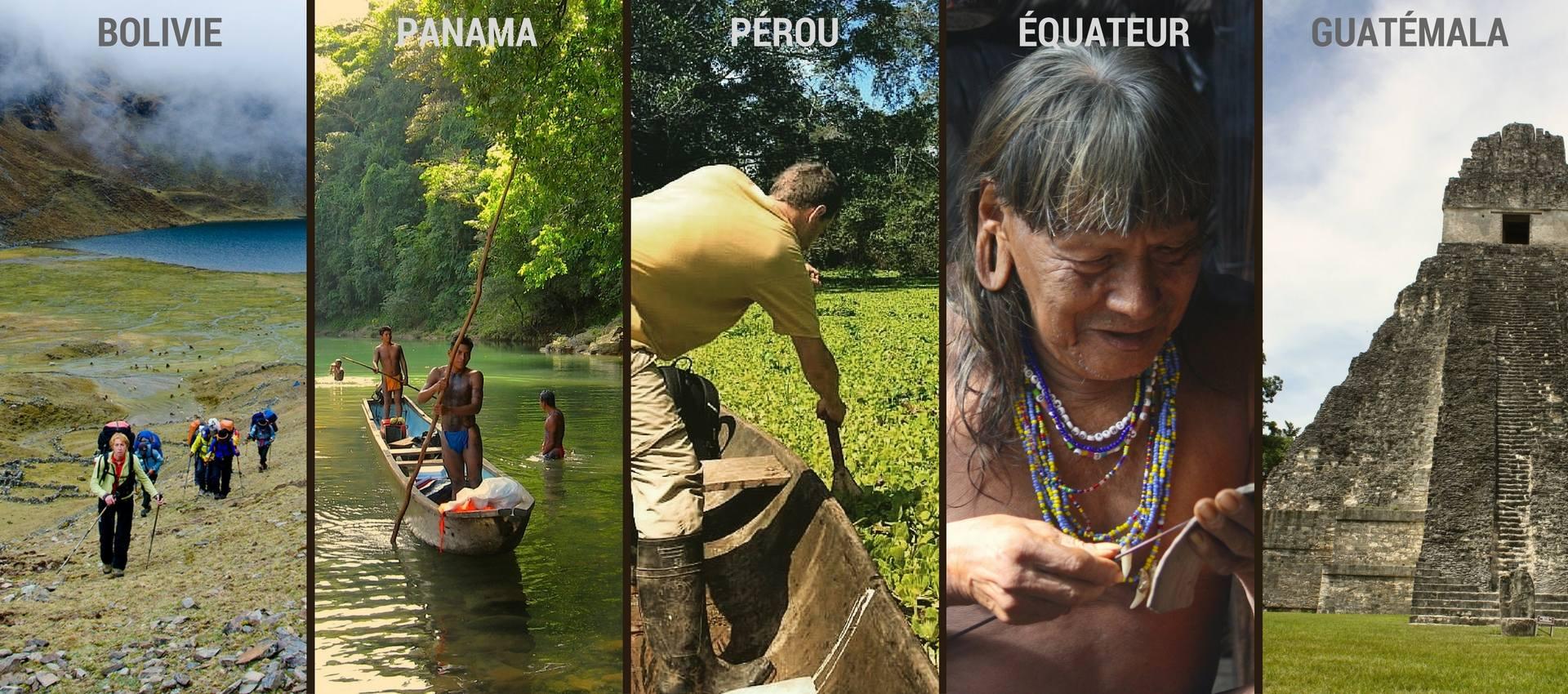 TREK EN AMAZONIE